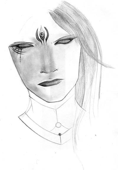 Face Sketch by AtriumsAsylum