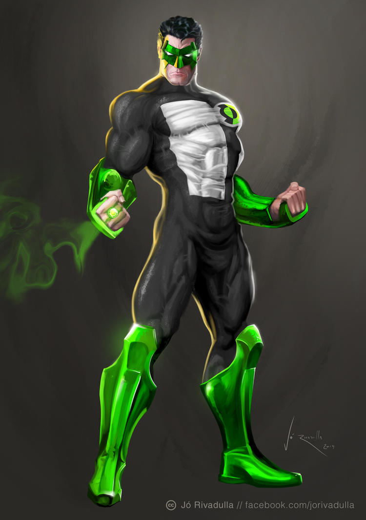 green lantern by jrivadulla on deviantart
