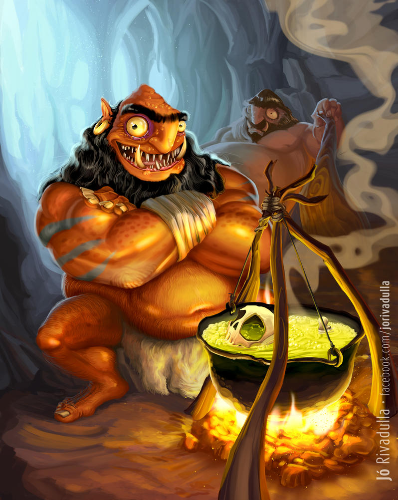 Ogro by jrivadulla