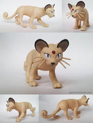 Pokemon Persian Sculpture (for sale) by Aakali