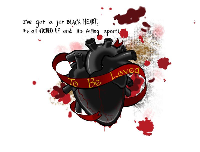 Jet Black Heart by CursedNight