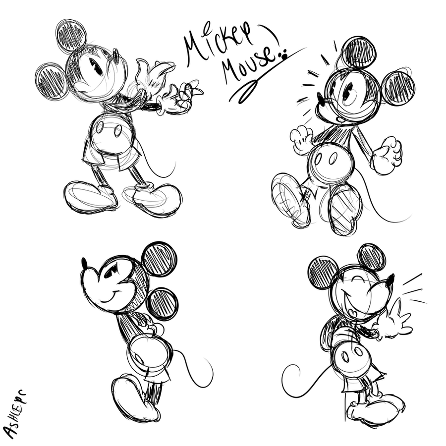Mickey Mouse Swag Drawings