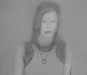 Starbuck BW Sketch by CFJrosa