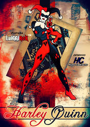 Harley Quinn by Hugocarvalhos