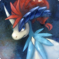 Keldeo Portrait by glassarcadia