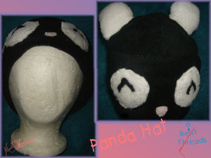 Panda Hat by hand-sewers-unite