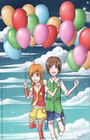 Balloons by mangaka-Kim-chan