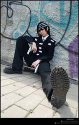 SE - Kid-kun resting by SoranoSuzu