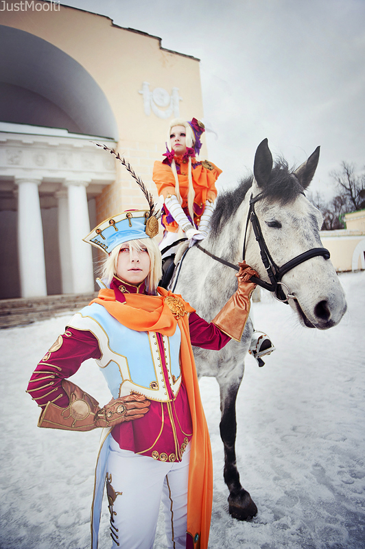 TB_Horseback walk by SoranoSuzu