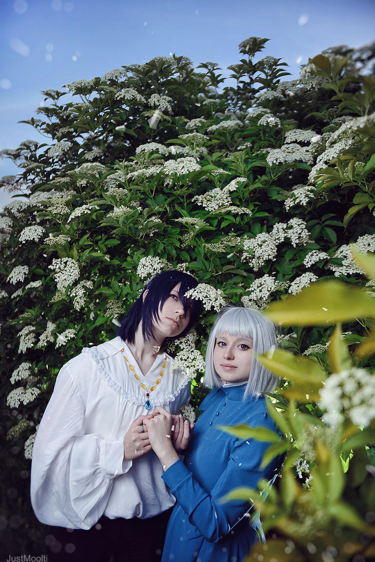 Howl's Moving Castle_Howl and Sophie by SoranoSuzu