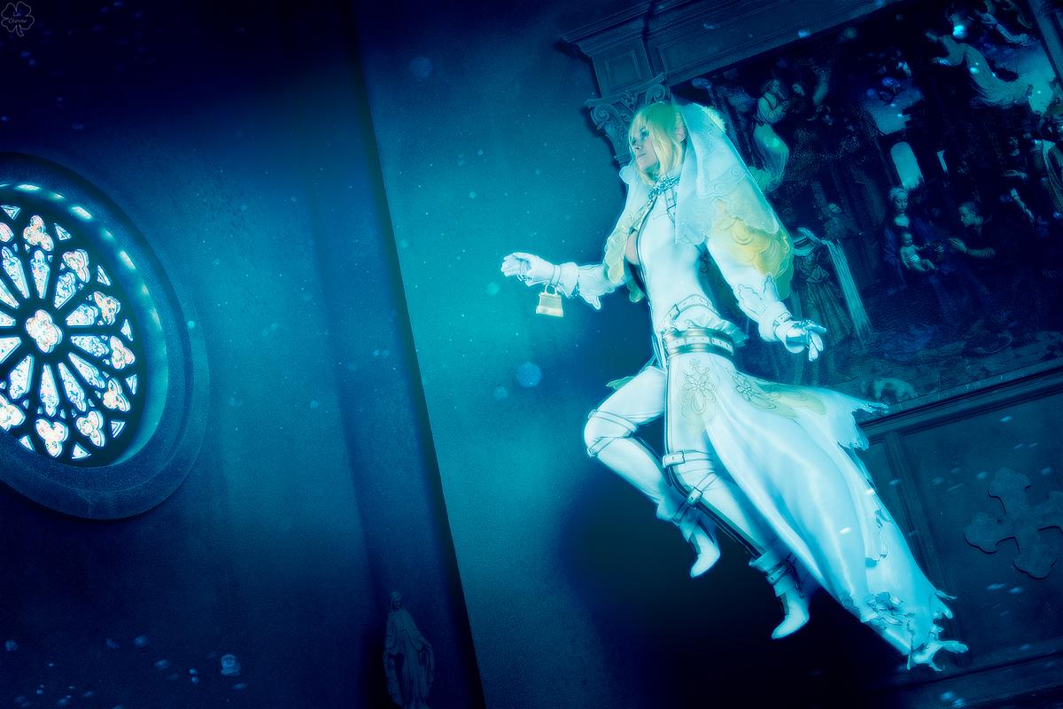 Fate/ExtraCCC_Underwater chapel by SoranoSuzu