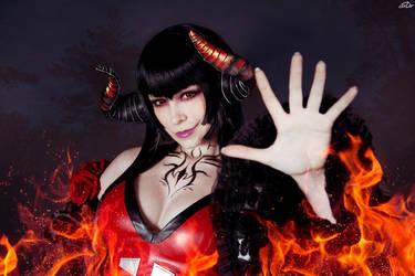 Tekken_You look like a treat by SoranoSuzu