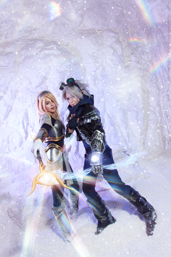 Luxanna Lux Crownguard/Ezreal - Works