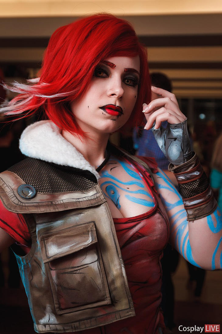 borderlands 2lilith portrait by soranosuzu on deviantart