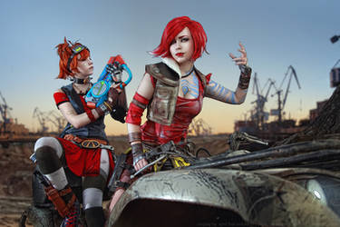 Borderlands_Lilith and Gaige