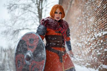 Witcher III_Warrior queen by SoranoSuzu