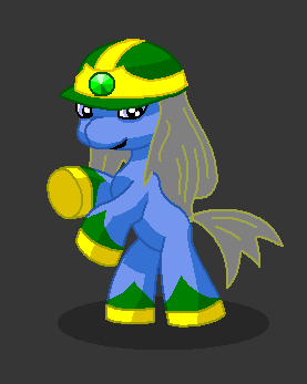 Filly fancharacter - Pyrite