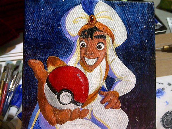 Aladdin the Pokemon Master by Avaele