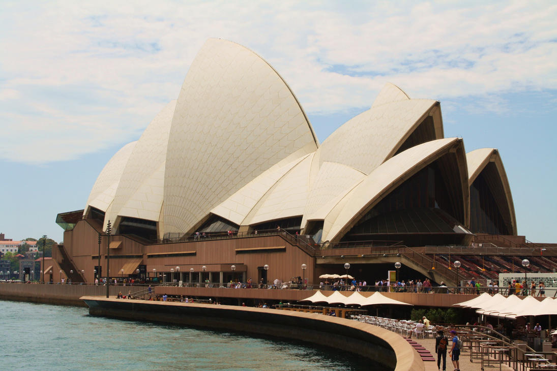 Sydney Opera House By Wolfie 83 On Deviantart