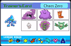 Chaos Zero's Pokemon by LightDemonCodeH