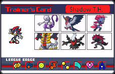 Shadow's Pokemon by LightDemonCodeH