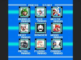 Mario Power Ups MM2 boss select by LightDemonCodeH