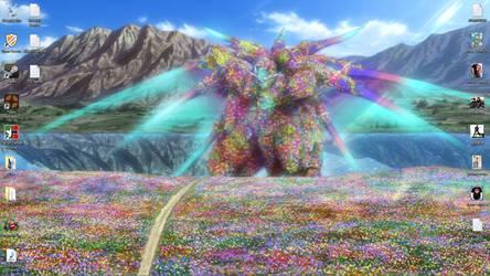Wallpaper - Gundam 00 Ending by eSergei
