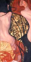 Klimt's Goldfish by mizukogrrl