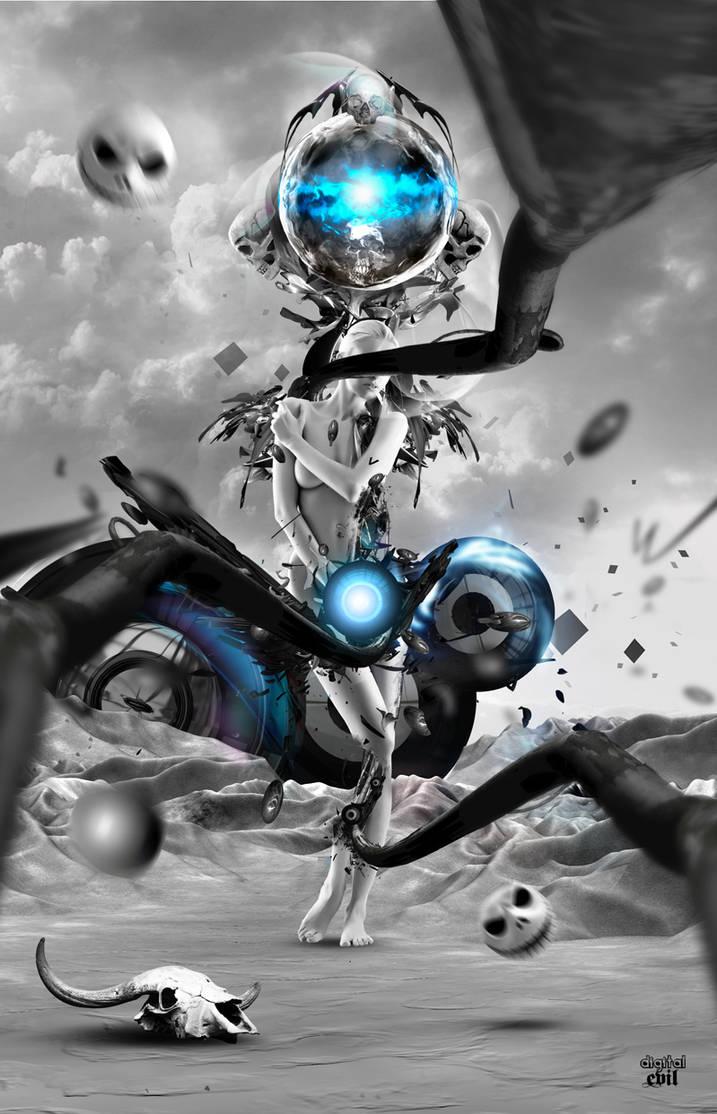 Digital Evil by xiondzz