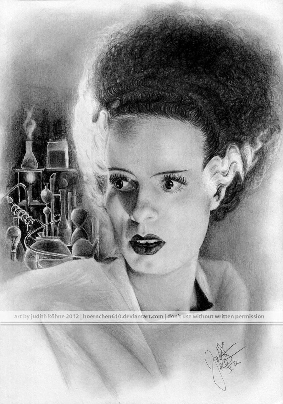 Bride of Frankenstein by hoernchen610 on DeviantArt