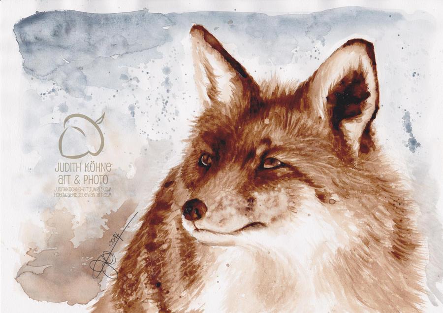Coffee Fox by hoernchen610