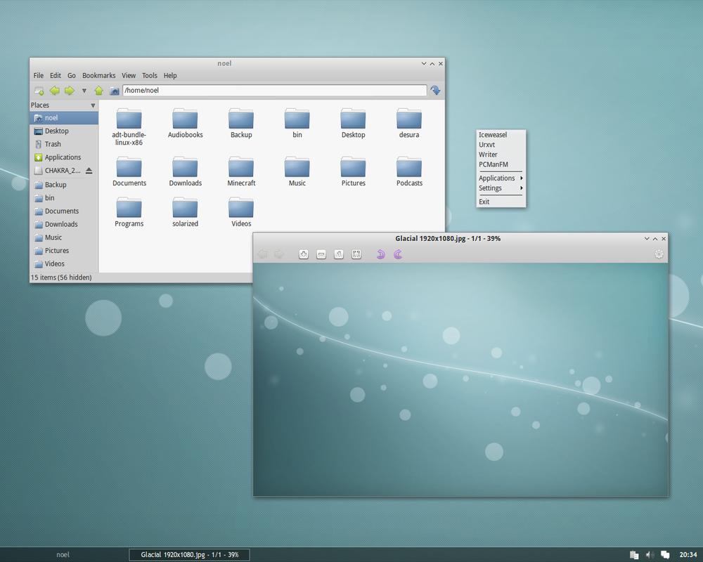 Openbox Desktop - March 2013 by kexolino
