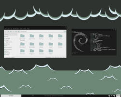 Openbox Desktop - April 2013 by kexolino