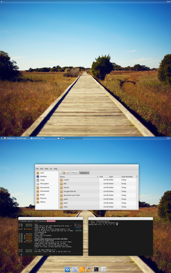 Yet Another Zukitwo Desktop by kexolino