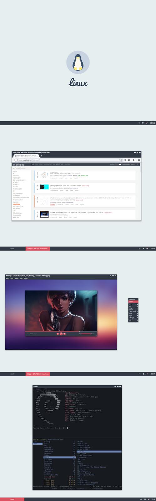 Skyfire Linux Desktop by kexolino