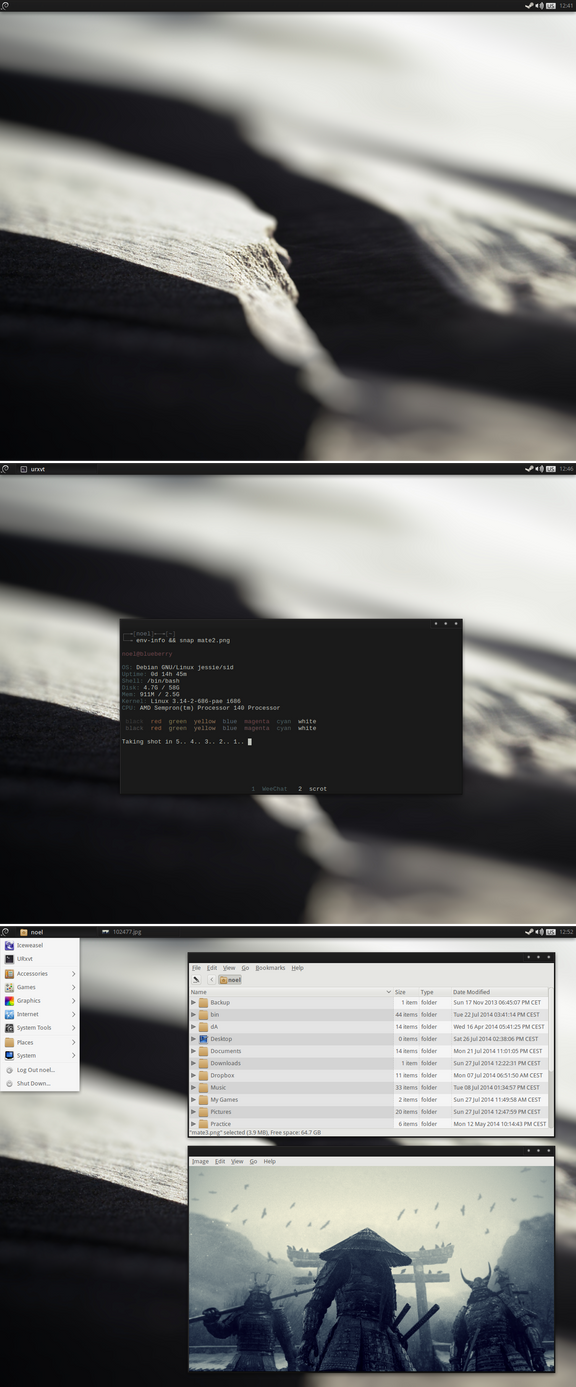 Simple Mate Desktop by kexolino