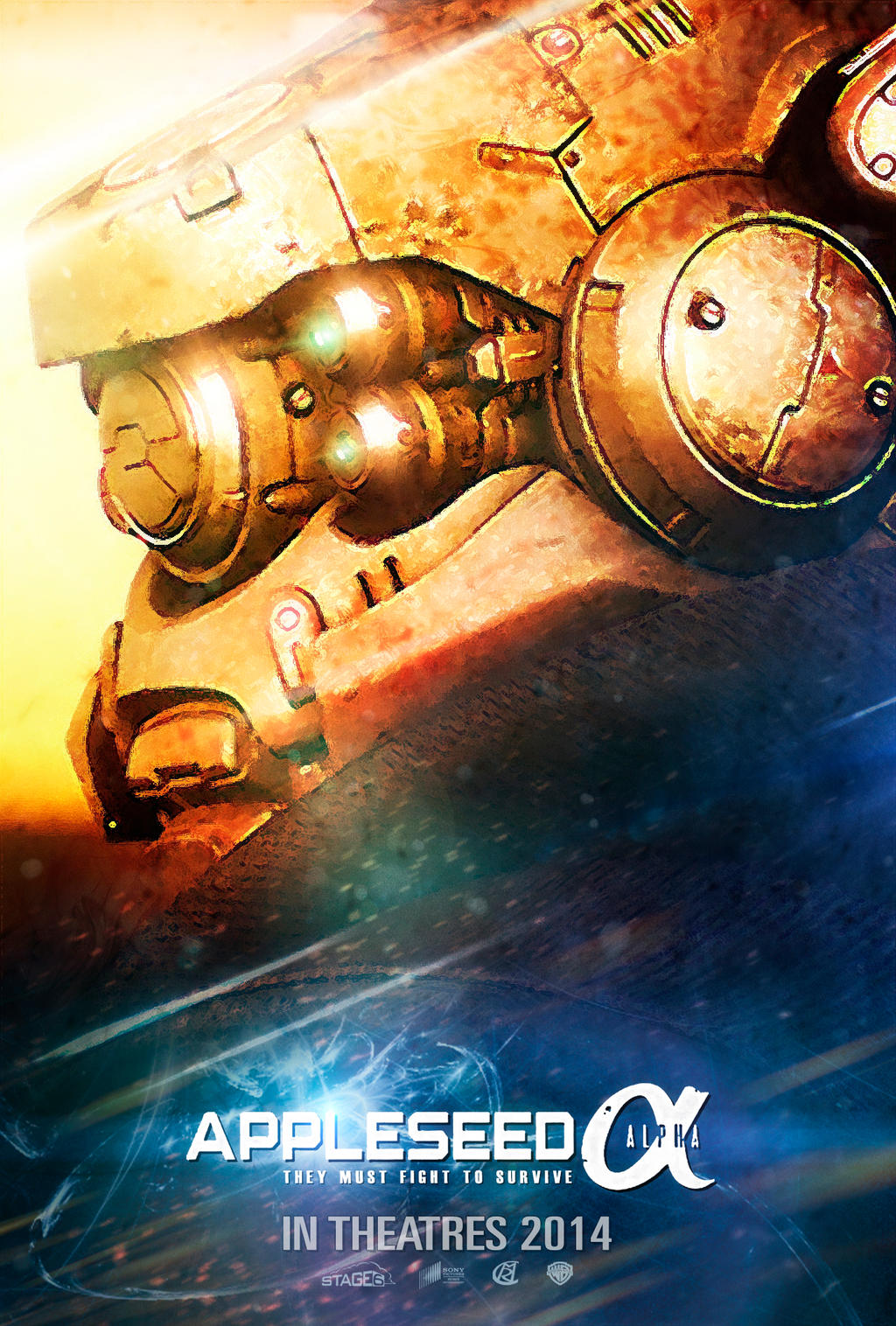 Appleseed movie poster