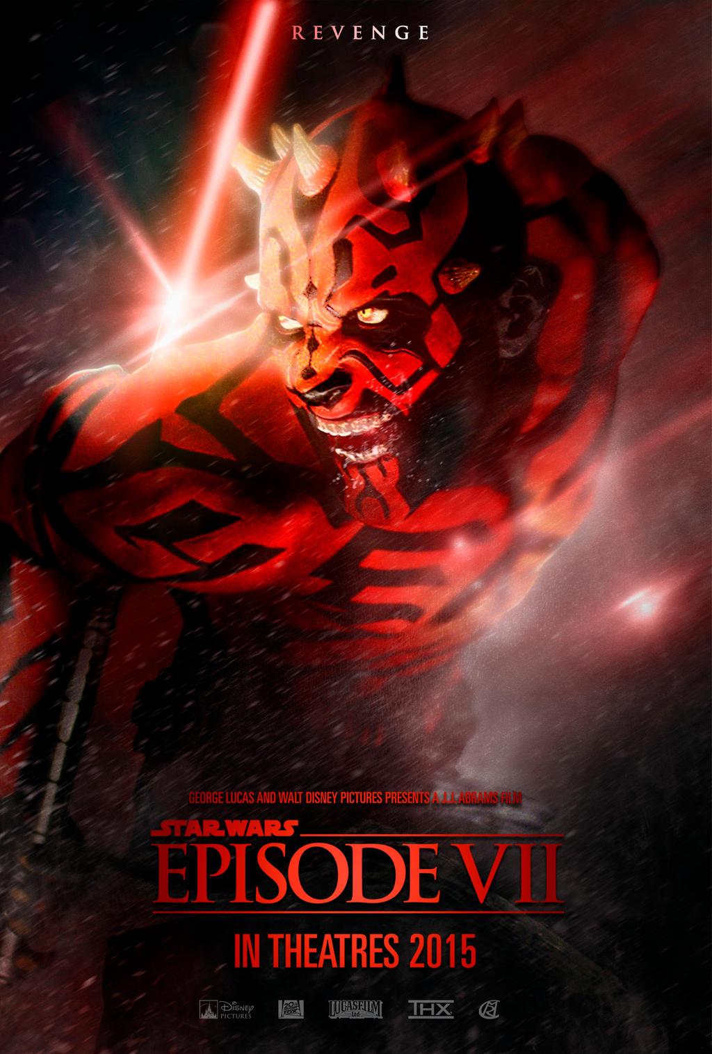 Star Wars EPISODE VII - Villain Movie Poster by rcrain98 ...
