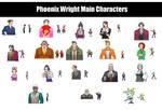 Phoenix Wright Pokemon sprites