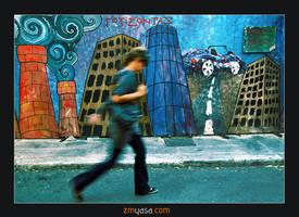 Steps in Plaka by MehmetYasa