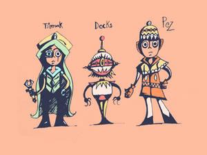 Tityruak, Docks y Pez