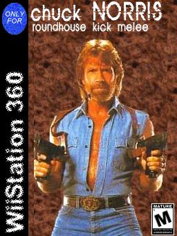WiiStation 360: Chuck Norris by AoiroBunraku