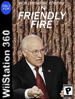 WiiStation 360: Dick Cheney by AoiroBunraku
