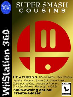 WiiStation 360: Super Smash by AoiroBunraku