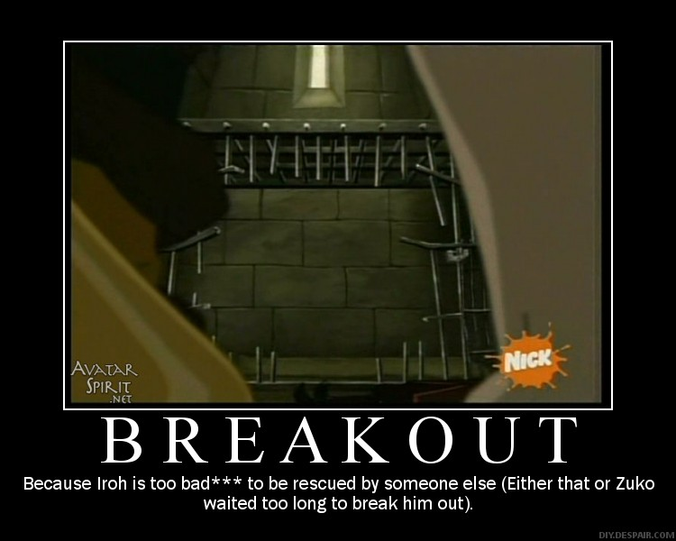 Breakout Motivational Poster by artgirl87