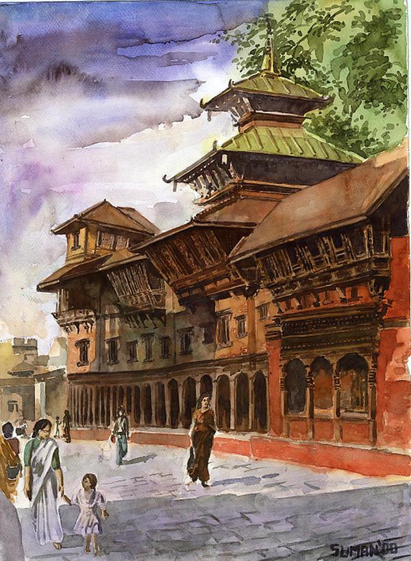 kathmandu by sumanprajapati