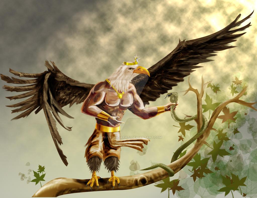 Garuda By Sumanprajapati On DeviantArt