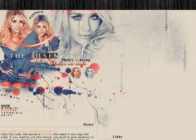 Olsen twins layout by 4jealousy