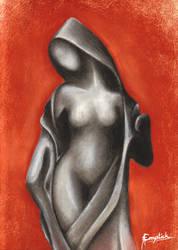 Femme au pastel