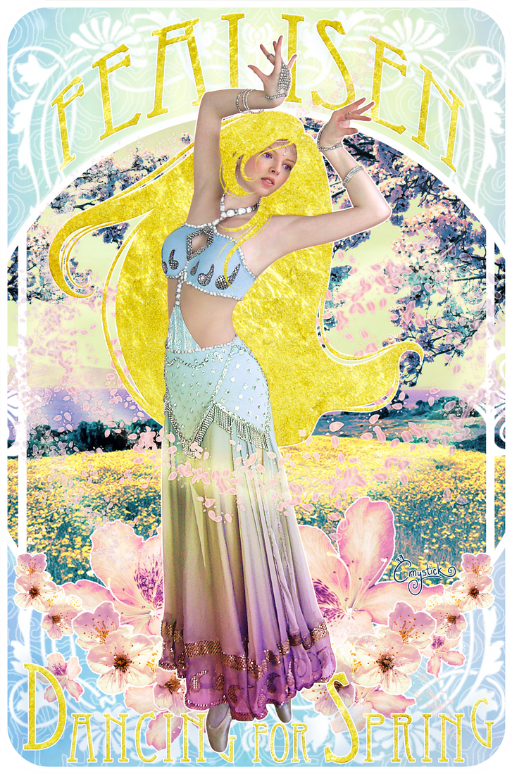 Fealisen - Dancing for Spring by Emystick